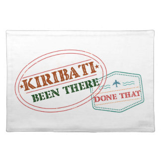 Kiribati Been There Done That Placemat
