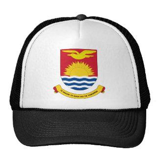 kiribati emblem trucker hat