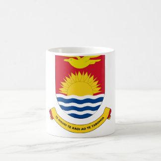 kiribati emblem coffee mug