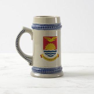 kiribati emblem beer steins