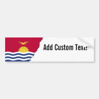Kiribati Flag Bumper Sticker