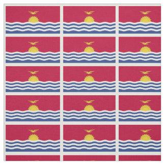 Kiribati Flag Fabric