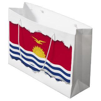 Kiribati Flag Large Gift Bag