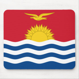 Kiribati Flag Mouse Pad