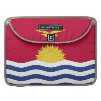 Kiribati Flag Sleeve For MacBook Pro