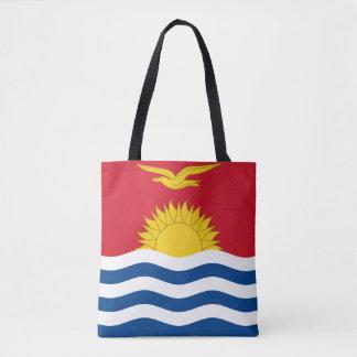 Kiribati Flag Tote Bag