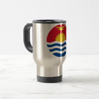 Kiribati Flag Travel Mug