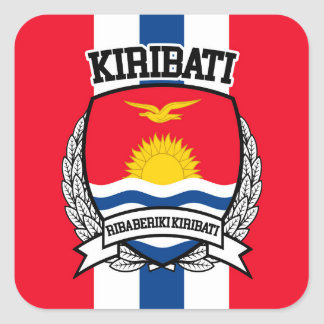 Kiribati Square Sticker