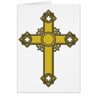 Kirishitan Cross embossed Card