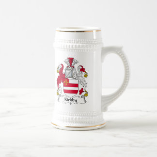 Kirkby Family Crest Beer Steins