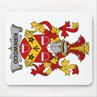 Kirkwood Family Crest Mouse Pad