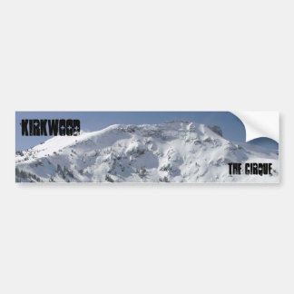 Kirkwood, The Cirque Bumper Sticker