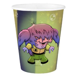 KIRKY MONSTER ALIEN CARTOON PAPER CUP