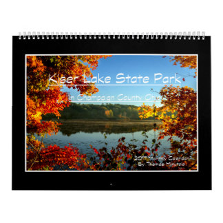 Kiser Lake 2017 Monthly Calendar By Tom Minutolo
