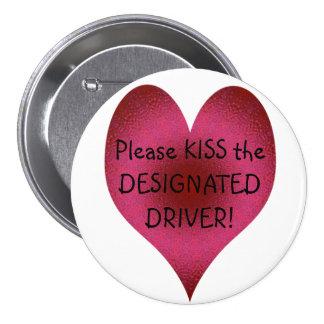 KISS - a Designated Driver button Pins