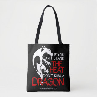 Kiss a Dragon tote