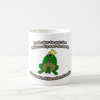 Kiss Frogs Mug