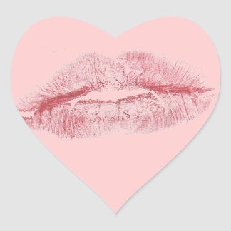 Kiss Heart Sticker