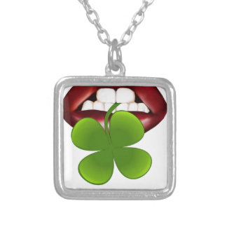 kiss hot irish gift t shirt silver plated necklace