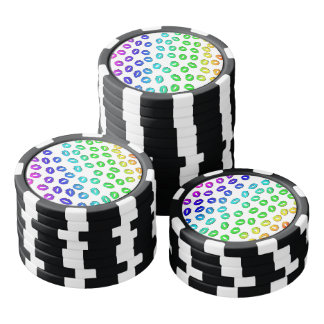 Kiss Kiss Poker Chips