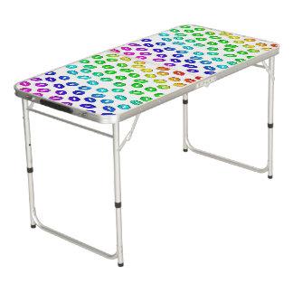 Kiss Kiss Pong Table