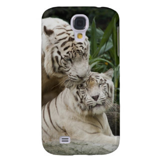 Kiss love peace and joy white tigers lovers galaxy s4 covers