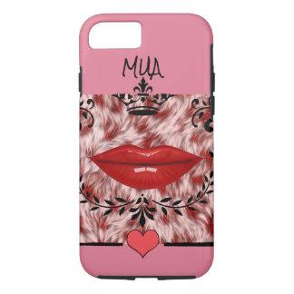 Kiss & Makeup Artist Lips iPhone 8/7 Case
