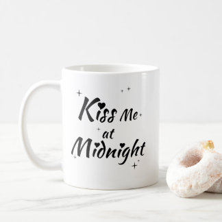 Kiss Me At Midnight Coffee Mug