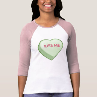 KISS ME Candy Heart T-Shirt