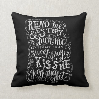 Kiss Me Goodnight Cushion