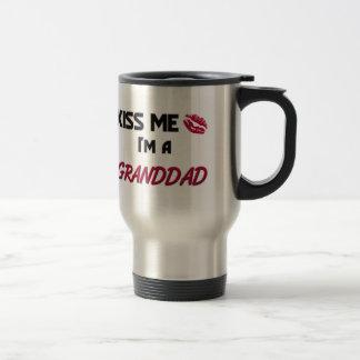 Kiss Me Granddad Mugs