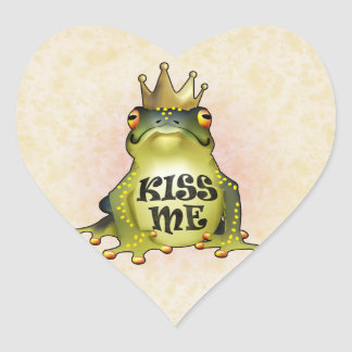 Kiss Me Heart Sticker