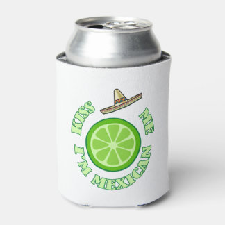 Kiss Me HHM Beverage Can Cooler