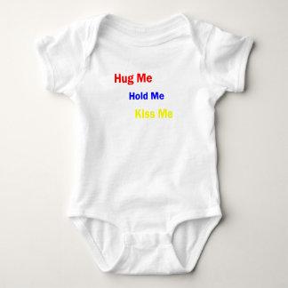 Kiss Me, Hold Me, Hug Me, Burp Me Baby Bodysuit