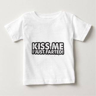 Kiss Me I Just Farted Tee Shirts