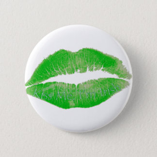 Kiss Me, I'm Irish 6 Cm Round Badge