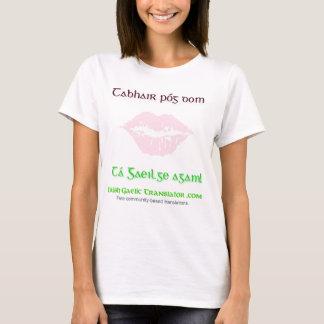 """Kiss me, I speak Irish!"" T-Shirt"