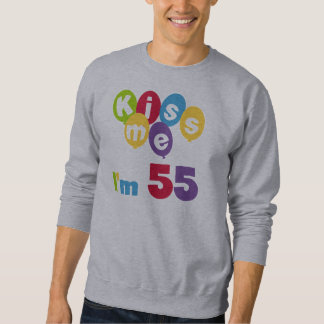 Kiss Me I'm 55 Birthday Tshirts and Gifts