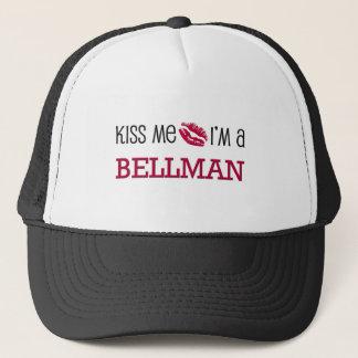 Kiss Me I'm a BELLMAN Trucker Hat