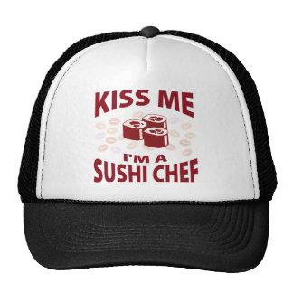 Kiss Me I'm A Sushi Chef Hat
