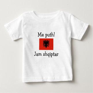 Kiss Me! I'm Albanian (Boy) Baby T-Shirt