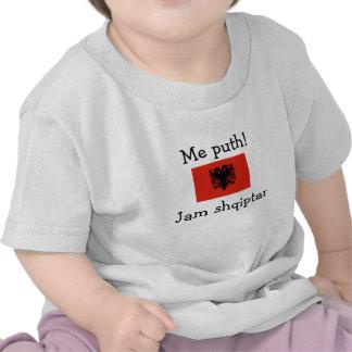 Kiss Me! I'm Albanian (Boy) Shirt