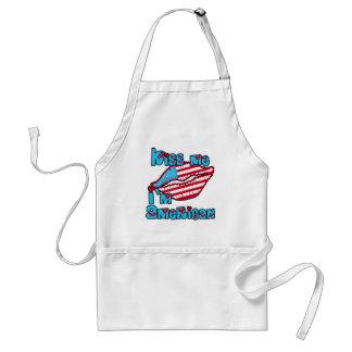 Kiss Me I'm American Products Standard Apron