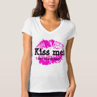 Kiss Me I'm Divorced T-Shirt