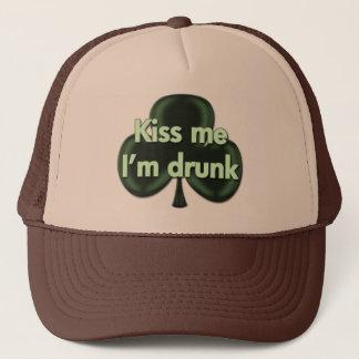 Kiss Me I'm Drunk Hat