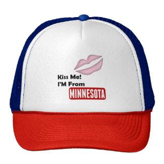Kiss Me, I'M From Minnesota Cap