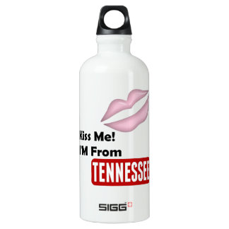 Kiss Me, I'M From Tennessee SIGG Traveller 0.6L Water Bottle