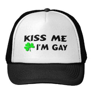 Kiss Me Im Gay Cap
