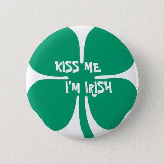 Kiss Me, I'm Irish 6 Cm Round Badge