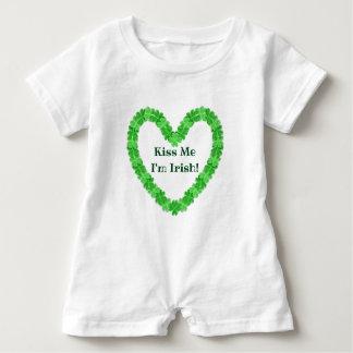Kiss Me I'm Irish Baby Bodysuit